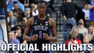 Harry Giles Official Highlights | Duke Forward