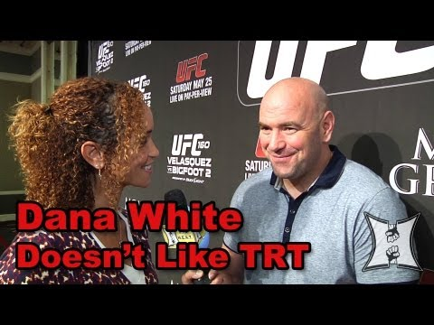 UFC - MMA H.E.A.T.'s Karyn Bryant talks with UFC President Dana White before UFC 160, set to take place on May 25, 2013. Dana gives his thoughts on how good Cain ...