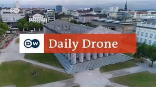 his installation on Friedrichsplatz square in Kassel is a plea for freedom of opinion. The artwork consists of thousands of banned books.  http://www.facebook.com/dw.travelhttp://www.instagram.com/dw_travel#DailyDrone is our daily bird's-eye view of Germany. Every day a different exciting location in the viewfinder of our drone camera. Famous sights in Berlin, Cologne, Hamburg or Munich, castles and fortresses from across the country, loading containers in a major port, bringing in the harvest, a day at the regatta. #DailyDrone takes you on unique journeys to destinations all over Germany, in all weathers and seasons, 365 days a year.