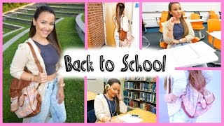Easy Back to School Makeup + Outfit