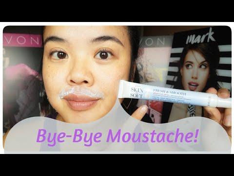Bye-Bye Moustache  Avon Facial Hair Removal Cream Review