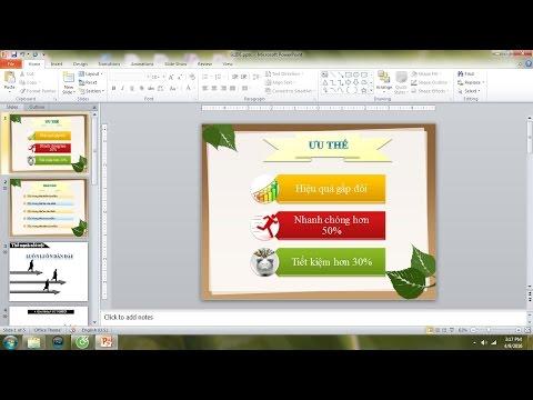Cách làm slide trở nên chuyên nghiệp hơn - Hướng dẫn Powerpoint 2010 cơ bản - Thời lượng: 29:57.