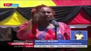 Meru Governor Peter Munya storms out of DP meeting