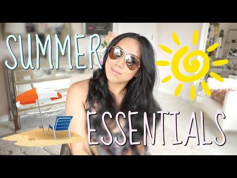SUMMER BEAUTY ESSENTIALS! - itsjudytime