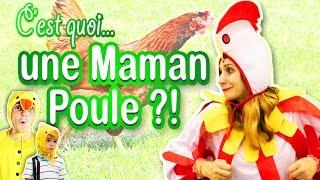 Quand Angie se transforme en Mère Poule, elle marche sur des oeufs pour éviter les prises de becs... Attention : interdiction de...