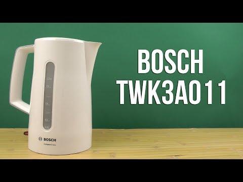Распаковка BOSCH TWK3A011
