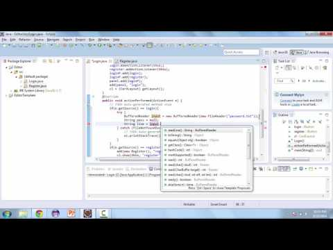 Learn How to Create a TextEditor with Java - Updating classes