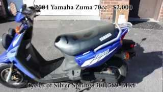 6. 2004 Yamaha Zuma 70cc for Sale - Cycles of Silver Spring