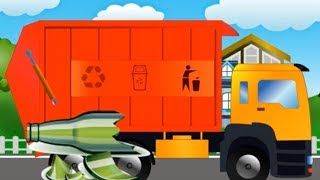 Garbage Truck Videos - Garbage Trucks For Kids - Monster Trucks For Kids Videos