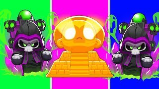 Bloons TD 6 - 4-Player Summon Sun God Challenge   JeromeASF