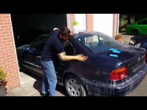 Покраска авто из баллончика с переходом своими руками видео