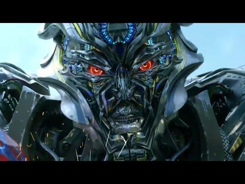 Transformers: Age of Extinction - Optimus Prime vs. Galvatron & Lockdown 1080p