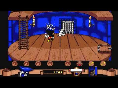 mickey mouse amiga game