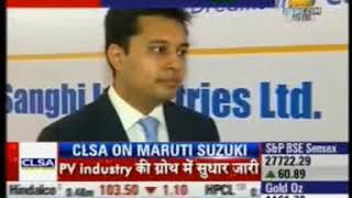 02 Zee Business Market @ 10 13 July 2015 Mr  Alok Sanghi   Director, Sanghi Industries