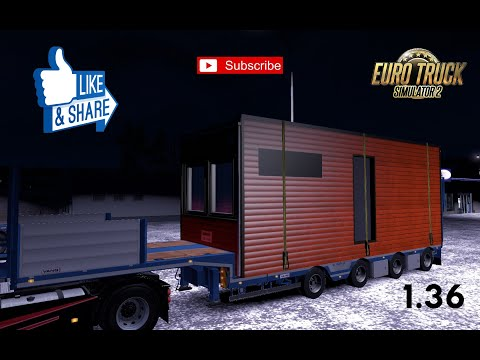 Vangs trailer open semi trailer 1.36.x
