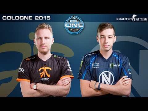 Fnatic vs. EnVyUS Counter-Strike: GO
