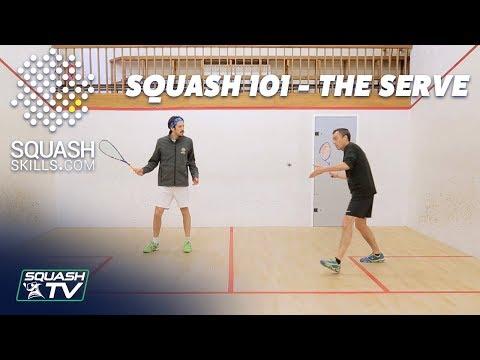 Squash 101 - Improve Your Serve