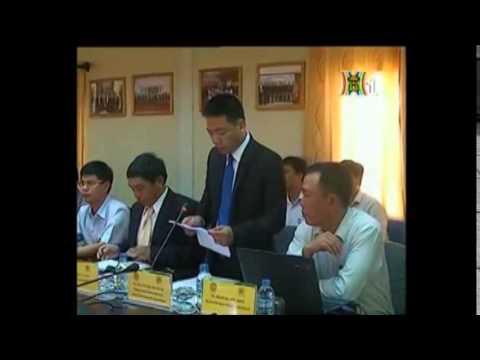 Doanh nghiệp tỉnh Ibaraki (Nhật Bản) làm việc với Công ty N&G Corp tại Khu CNHT Nam Hà Nội.