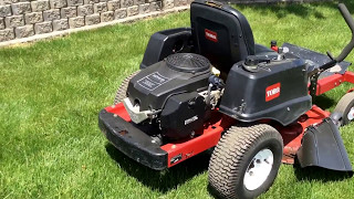 4. Toro Time Cutter Z4200 hydrostatic zero turn lawn mower | For Sale | Online Auction