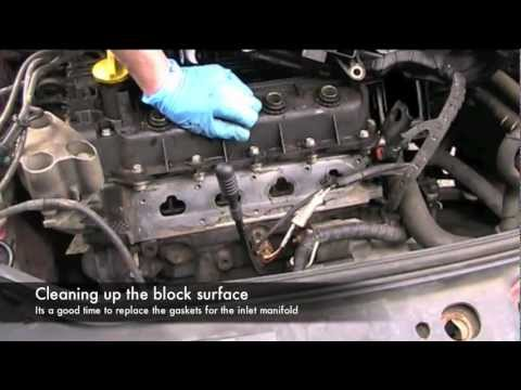 how to repair core pack for renault laguna 2003