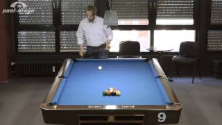 10-Ball-Break, Ralph Eckert, Pool Billard Training