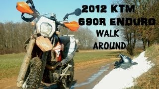 3. 2012 KTM 690 Enduro R walk around