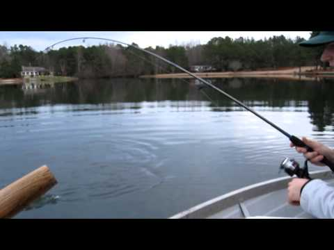 Catching a HUGE monster crappie!!!
