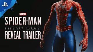 Marvel's Spider-Man – Sam Raimi Suit Reveal Trailer   PS4