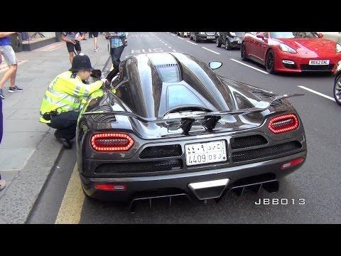 polizia vs super car! guardate cosa succede..