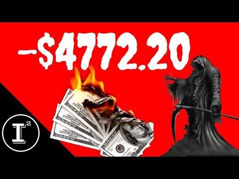 I LOST $4772.20 TODAY 📉 STOCK MARKET CRASH 2018!