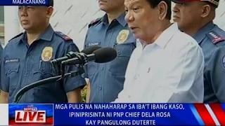 Video Mga pulis na nahaharap sa iba't ibang kaso, ipiniprisinta ni PNP Chief Dela Rosa kay Pang. Duterte MP3, 3GP, MP4, WEBM, AVI, FLV September 2018