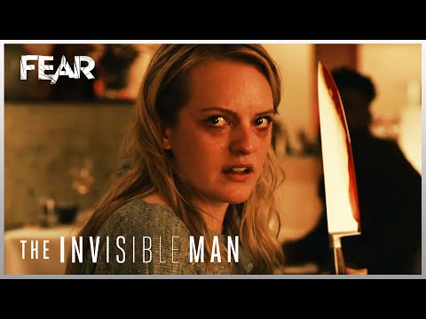 Celia Kills Her Sister | The Invisible Man (2020) | Fear
