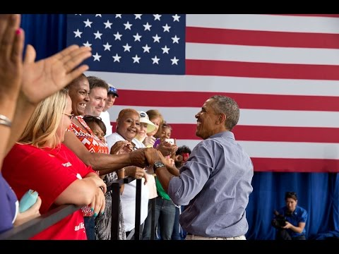 Hope - On September 1, 2014, President Obama delivered remarks at the annual Laborfest in Milwaukee, Wisconsin.