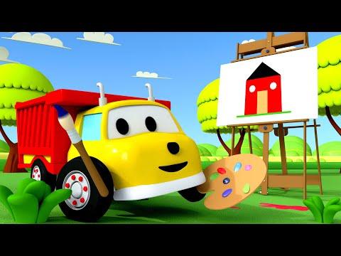 Учим цвета + Игорь рисует дом 🚚 Обучающий мультфильм для детей - DomaVideo.Ru