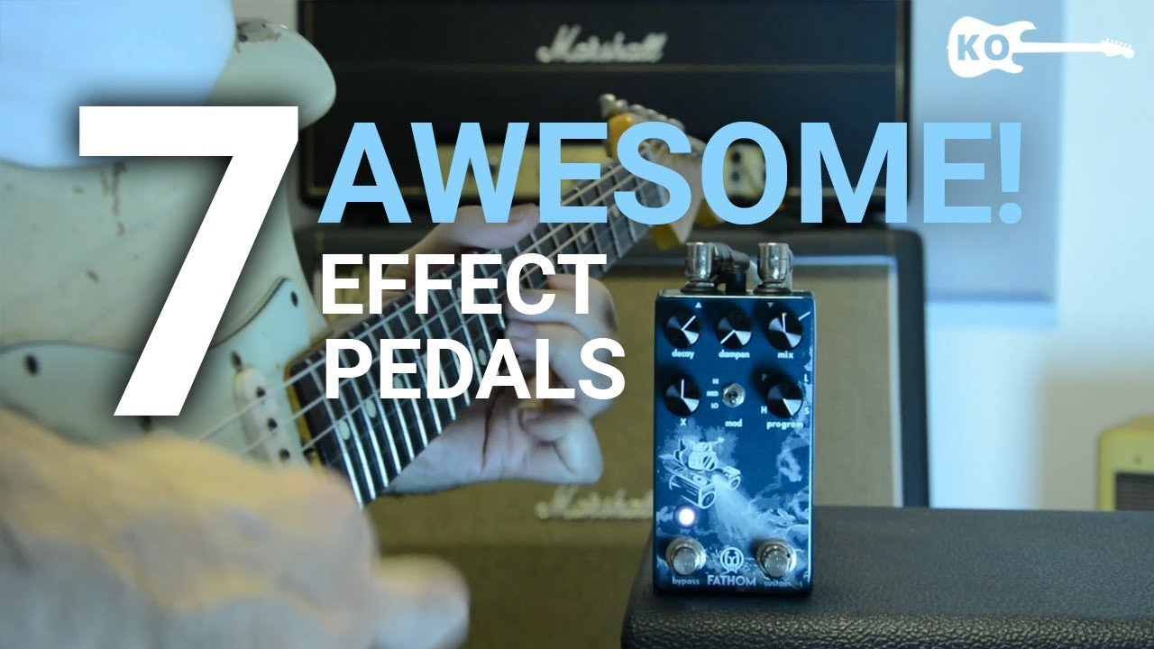 7 Awesome Effect Pedals for Electric Guitar – by Kfir Ochaion