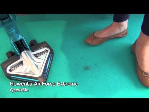REPORTAGE High-Tech : Aspirateur Rowenta Air Force Extreme - présentation FR