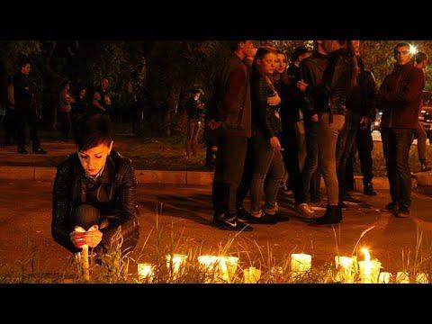 Κερτς: Θρήνος για τα θύματα του μακελειού