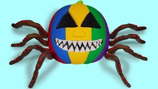 Video Learn Colors Mad Mattr Rainbow Halloween Pumpkins Attract Human Baby Born Surprise Toys For Children MP3, 3GP, MP4, WEBM, AVI, FLV Oktober 2017