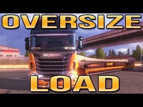 OVERSIZE LOAD! (Euro Truck Simulator 2) ETS2