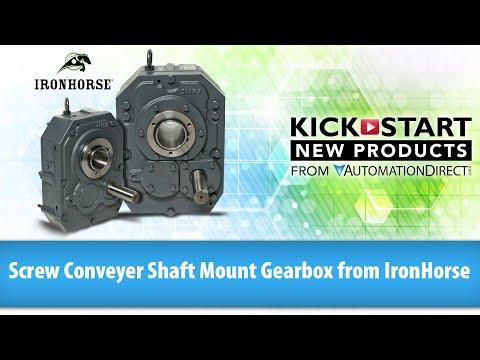 Screw Conveyor Shaft Mount Gearbox from IronHorse KickStart