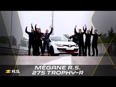 Renault M�gane R.S. 275 Trophy-R N�rburgring Nordschleife lap record (full version) #UNDER8