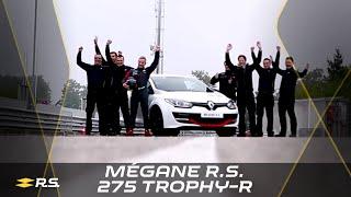"""""""Renault Megane R.S. 275 Trophy-R"""" rekordbrauciens Nirburgringas Nordšleifē"""