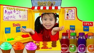 Jannie Pretend Play BAKING with Snack Shop Toy Set