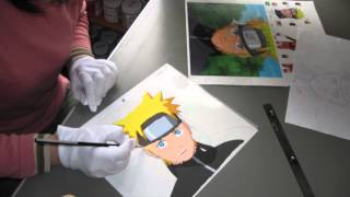 Anime Cel Art – A3K TV