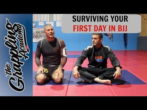 Surviving Your First Day In BJJ!