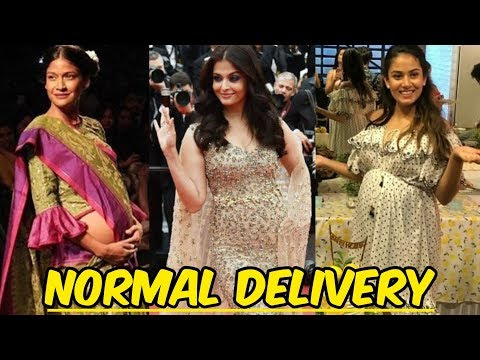6 Bollywood Celebrities Who Had Normal Delivery