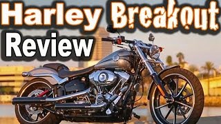3. 2015 Harley Davidson Breakout Ride and Review  - First Time Riding a Harley