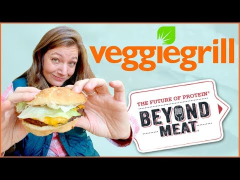 The Beyond Burger at Veggie Grill