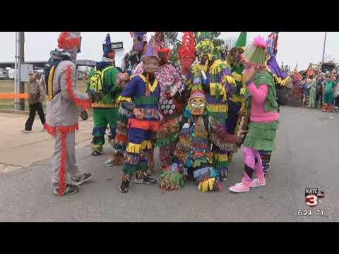 Eunice Courir de Mardi Gras