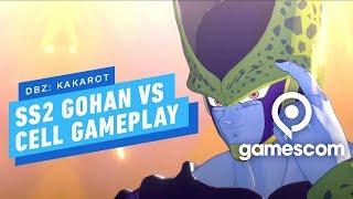 Dragon Ball Z Kakarot - Super Saiyan 2 Gohan vs Cell Gameplay by IGN